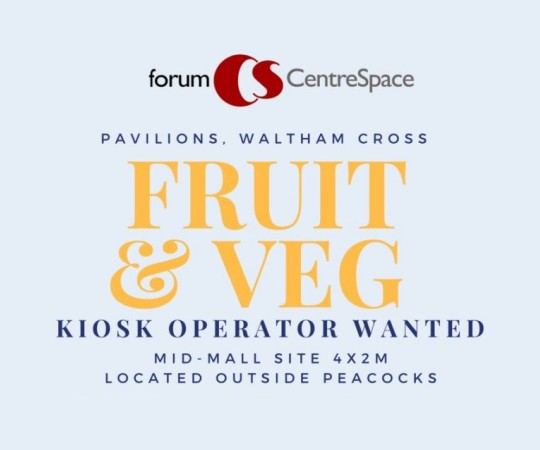Pavilions Shopping Centre job vacancy