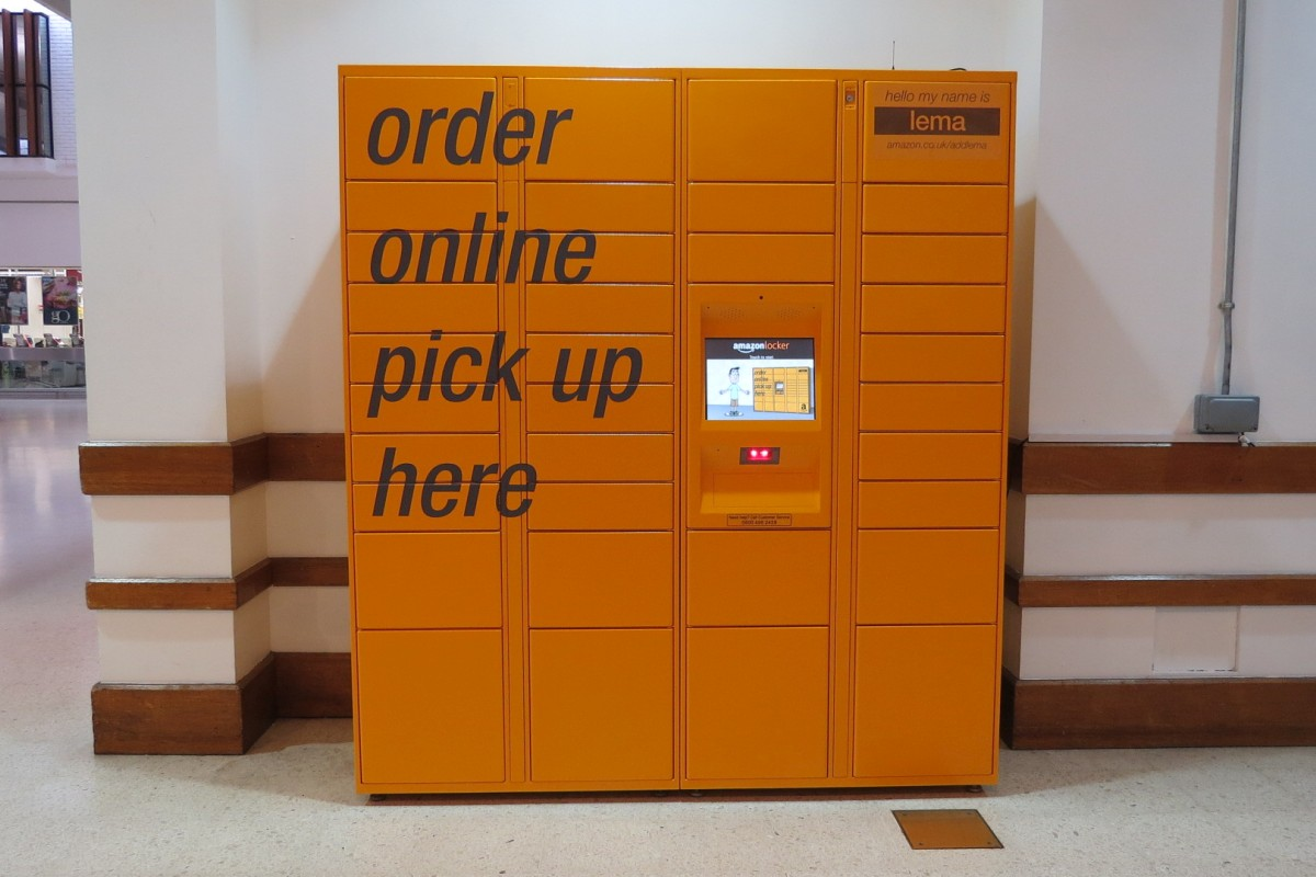 "Amazon lockers offer convenient ""click and collect"" shopping"