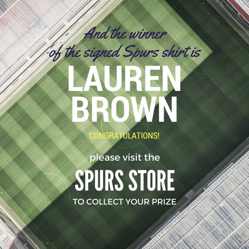 Signed Spurs shirt winner