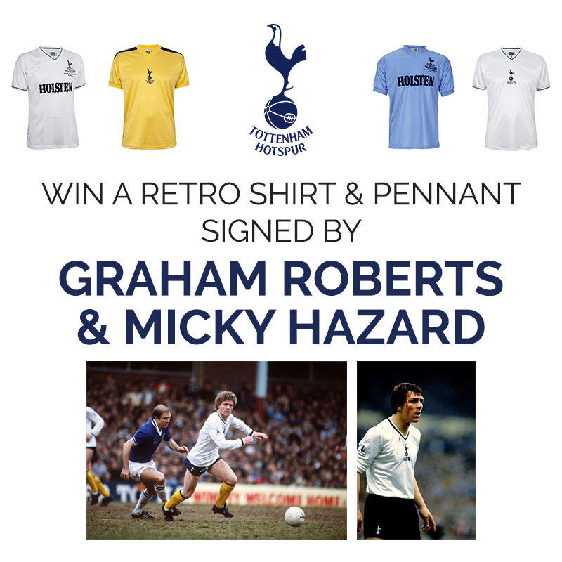 buy popular 32e81 20aad Win a shirt & pennant signed by Spurs legends - Pavilions ...