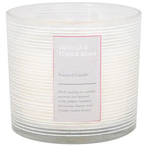 Vanilla & tonka bean candle