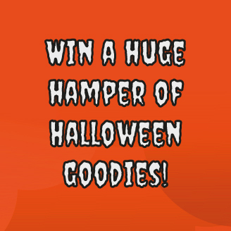 Win a huge hamper of Halloween goodies!