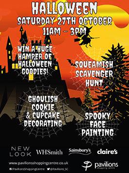 Halloween Saturday 27th October