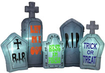 Argos Halloween 7ft Inflatable Grave Set
