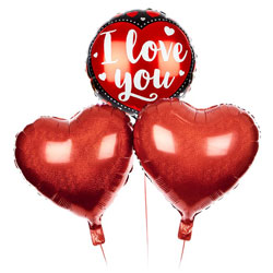 """""""I Love You"""" Valentine's Day Balloon Bouquet"""