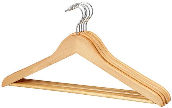 Home Wooden Hangers x5