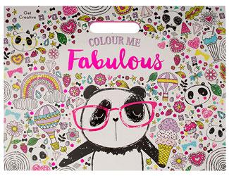 Home Panda Colouring Book A3