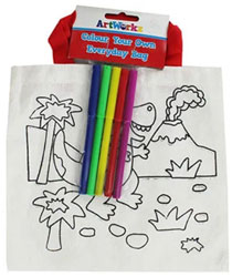 Colour Your Own Everyday Bag - Assorted