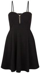 Loving This Black Sweetheart Strappy Skater Dress