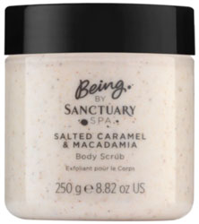 Being By Sanctuary Caramel Macadamia Scrub 250G