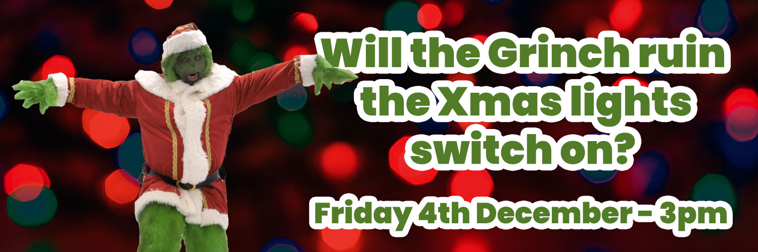 Will the Grinch ruin the xmas lights switch on?